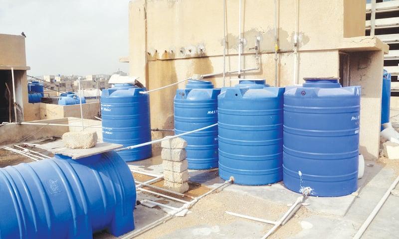 تاثیر گرما بر روی مخازن آب