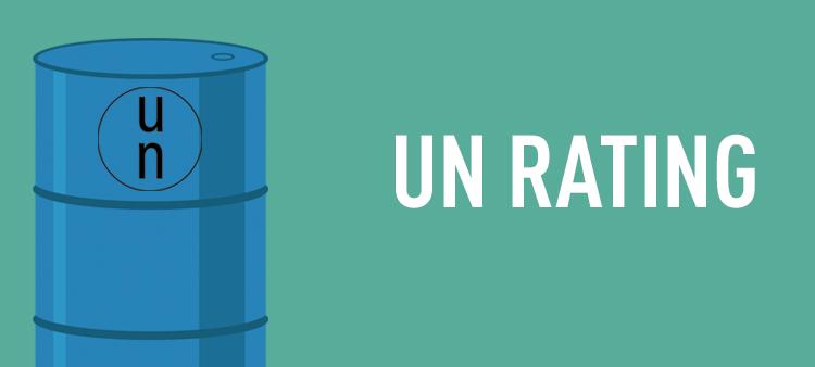 رتبه بندی UN بشکه پلاستیکی