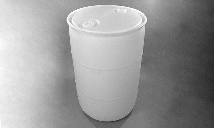 نمونه بشکه پلاستیکی سفید