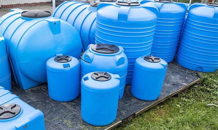 ضدعفونی کردن مخازن آب آبی