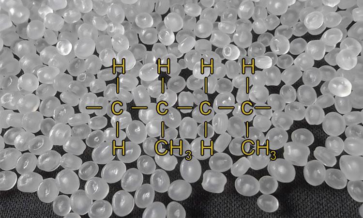 فرمول شیمیایی پلی پروپیلن
