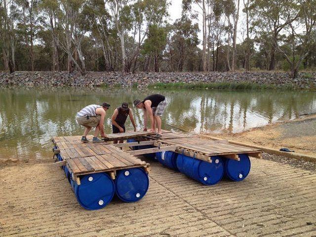 ساخت قایق پانتون