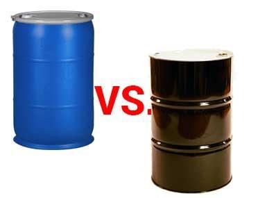 بشکه پلاستیکی یا فلزی؟