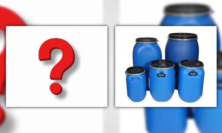 مواد با قابلیت ذخیره شدن در بشکه پلاستیکی