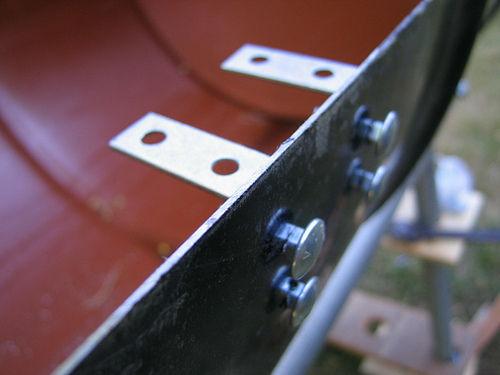 پیچ و لولاهای فلزی باربیکیو